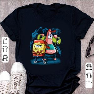 Pretty Punk Rock Spongebob With Patrick Star Pullover Street Style shirt