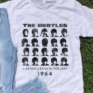 Pretty The Beatle A hard Day's night 1964 shirt