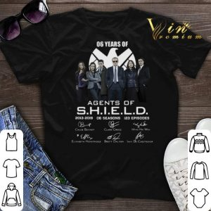 Signatures 06 years of Agents Of SHIELD 2013-2019 06 seasons shirt