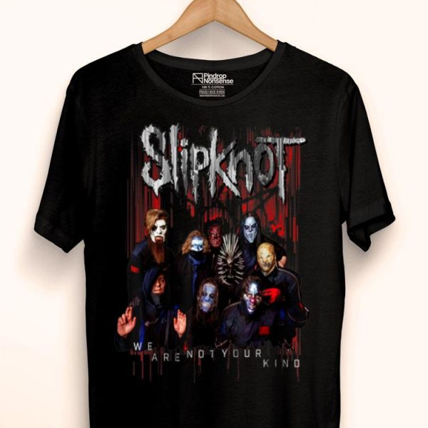 Slipknot Official We Are Not Your Kind Group Red shirt