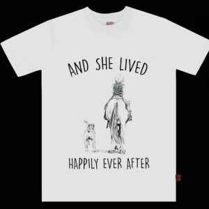 Top And She Lived Happily Ever After Horse Dogs shirt