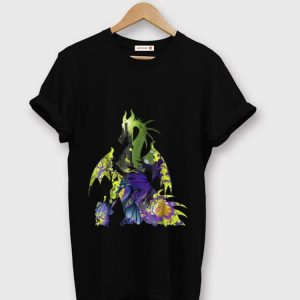 Top Disney Sleeping Beauty Maleficent Dragon Silhouette shirt