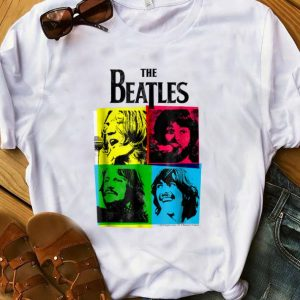 Top The Beatles CMYK shirt