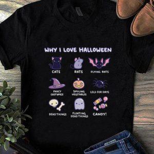 Top Why I Love Halloween Emoji Collection shirt