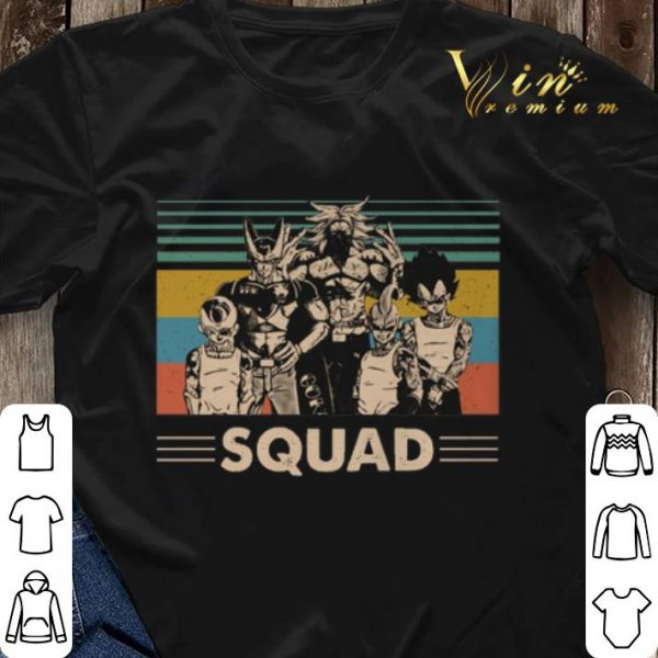 Vintage Dragonball z Squad shirt