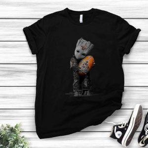 Wests Tigers Baby Groot Papel De Parede shirt