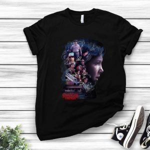 Eleven Of Stranger Thing 3 All Character Signatures shirt