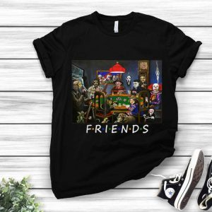 Friend Play Card Horror Movie Character Halloween shirt
