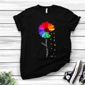 Choose Kind Autism Awareness Coloful Daisy Flower shirt