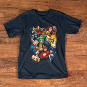 Awesome DC Justice League All Here shirt