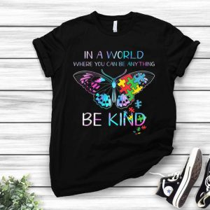 Be Kind Butterfly Autism Awareness shirt