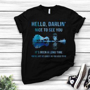 Conway Twitty Hello Darlin' Nice To See You Guitar Lake shirt