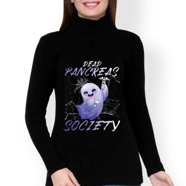 Dead Pancreas Society Diabetes Awareness Boo Ghost shirt