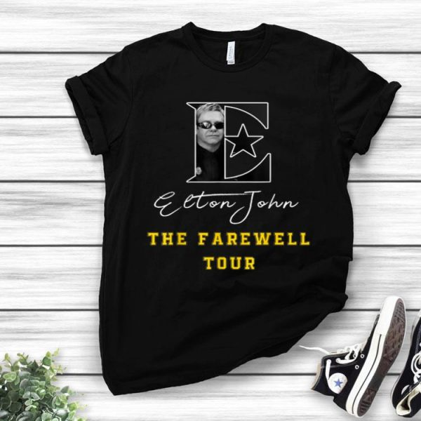 Elton John The Farewell Tour shirt