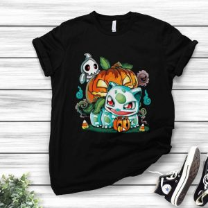 Halloween Pokemon Bulbasaur Pumpkin shirt