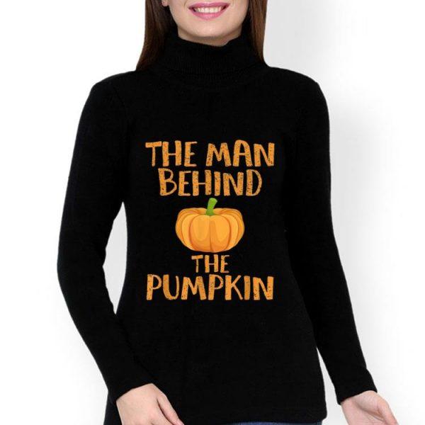 Halloween The Man Behind The Pumpkin Halloween Costume shirt