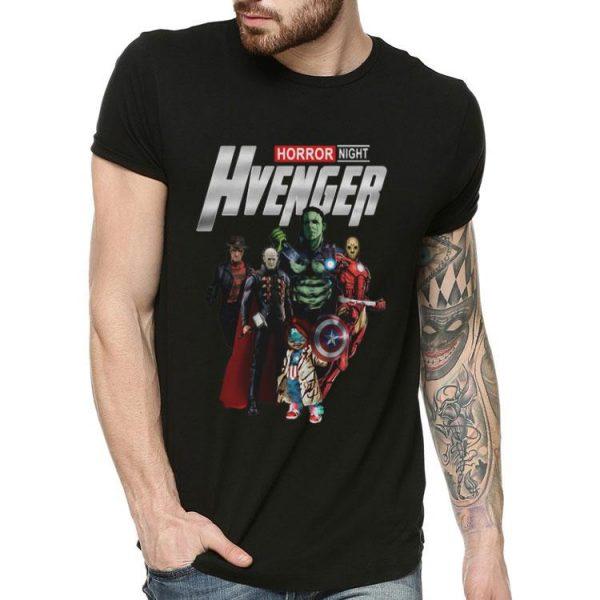 Horror Night Hvenger Avenges Endgame Horror Character shirt