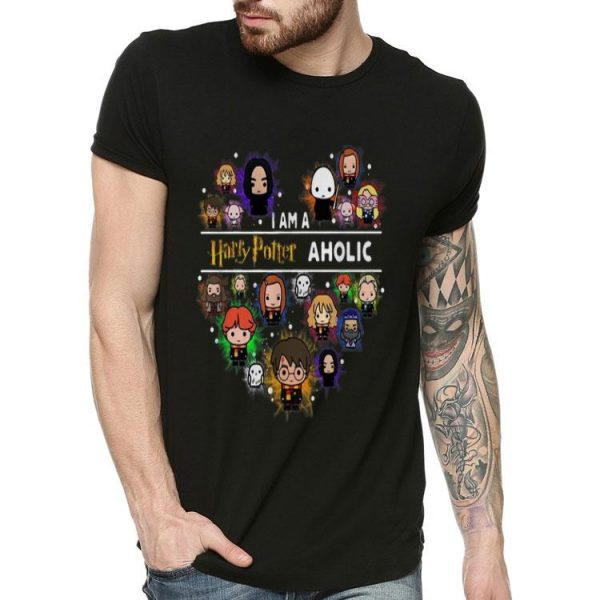 I Am A Harry Potter Aholic Harry Potter Chibi Character shirt