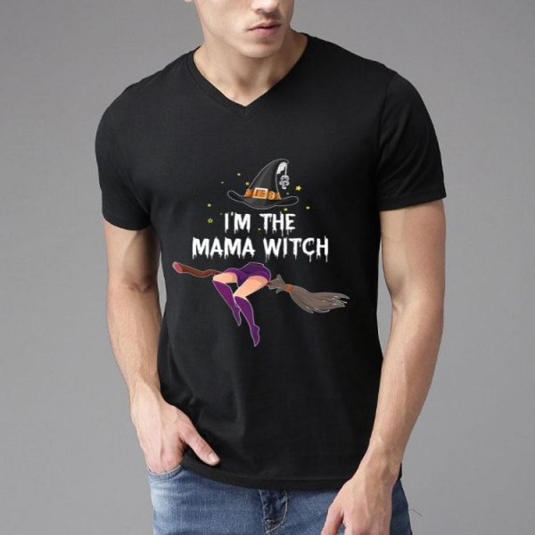 Im The Mama Witch Halloween Witch Costume shirt