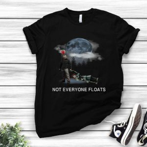 Jason Voorhees vs Pennywise not everyone floats shirt