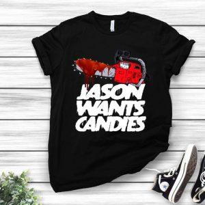Jason Wants Candies Friday Horror Jason Voorhees shirt