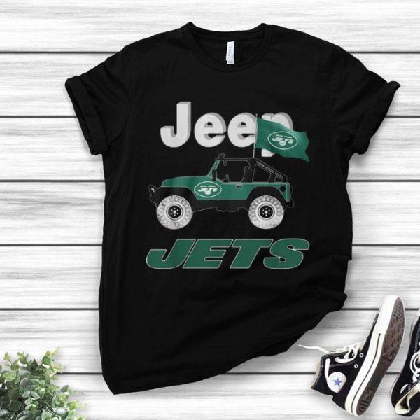 Jeep Flag Jets New York NFL shirt