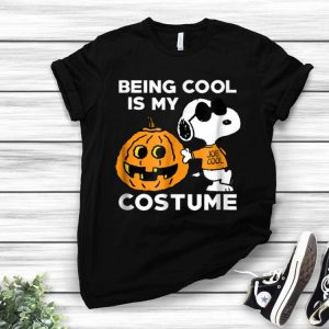 Peanuts Snoopy Being Cool Is My Halloween Costume shirt
