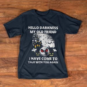 Premium Jack Skellington Hello Darkness My Old Friend shirt