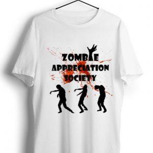 Premium Zombie Appreciation Society Halloween shirt