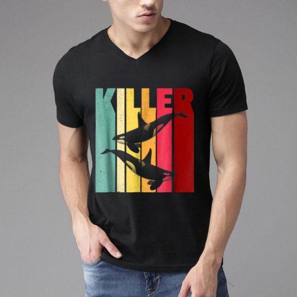 Retro Vintage Orca Killer Whale shirt