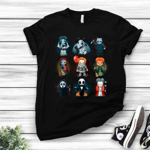 Scary Movies Costume - Friends Halloween Horror Team shirt