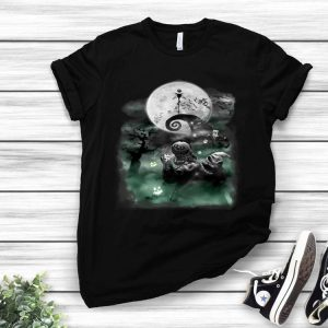 The Nightmare Before Christmas Haunted Scene Disney shirt