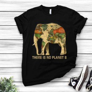 There Is No Planet B Elephant Map shirt