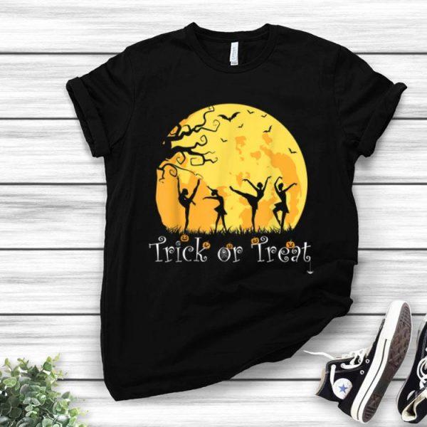 Trick Or Treat - Ballet Dancer Dancing Halloween shirt