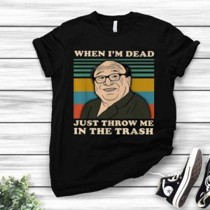 Vintage Frank Reynolds When I'm Dead Throw Me In The Trash shirt