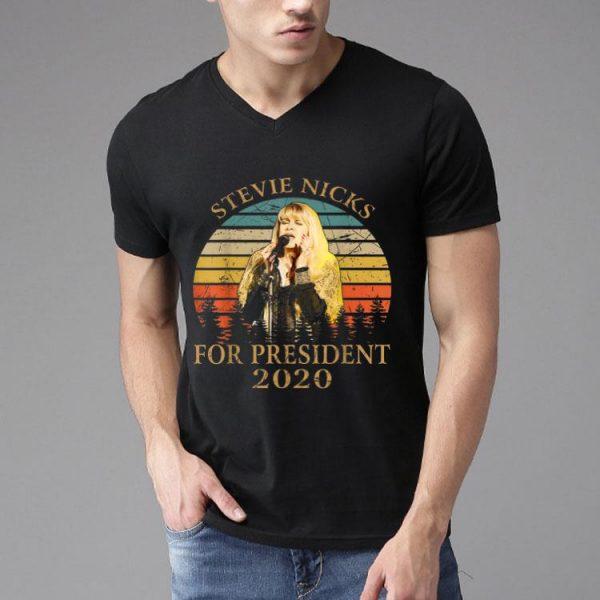 Vintage Stevie Nicks For President 2020 shirt