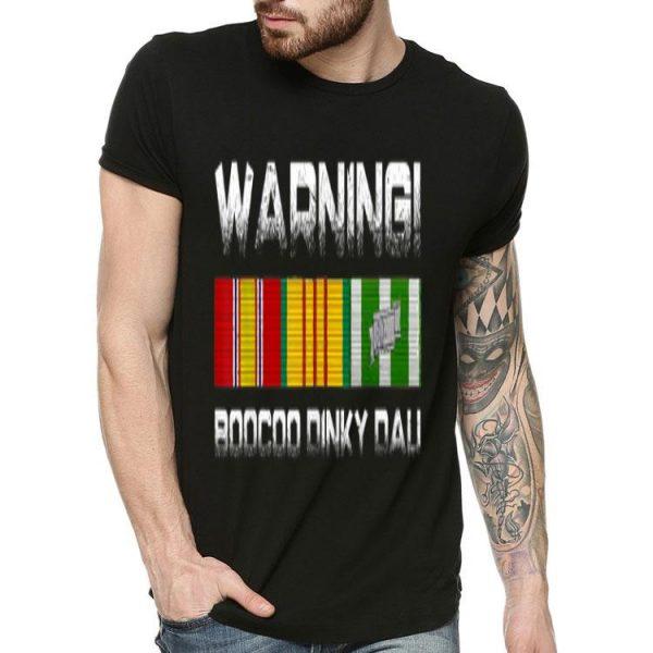 Warning Boocoo Dinky Dau shirt
