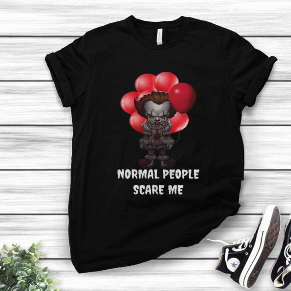 Pennywise Normal People Scare Me Halloween shirt