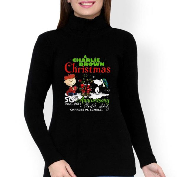 A Charlie Brown Christmas 50th Anniversary Signature shirt