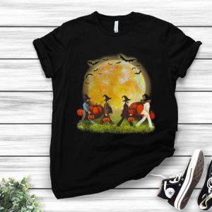 Abbey Road Walking On The Moon Pumpkin Halloween shirt