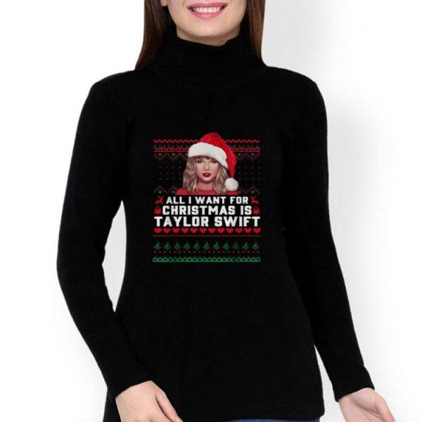 All I Want For Christmas Is Taylor Swift Ugly Christmas shirt