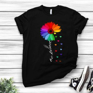 Choose Kindness Colorful Sunflower Anti-bullying Be Kind shirt