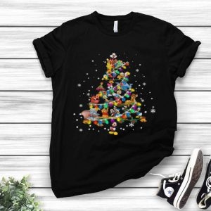 Disney Characters Christmas Tree shirt