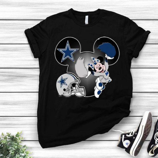 Disney Minnie Mouse Dallas Cowboys shirt