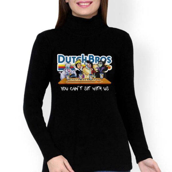 Evil Queen Disney Villain Dutch Bros You Can't Sit With Us shirt