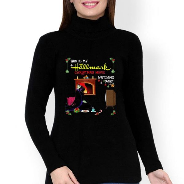 Evil Queen This Is My Hallmark Christmas Movie Watching shirt