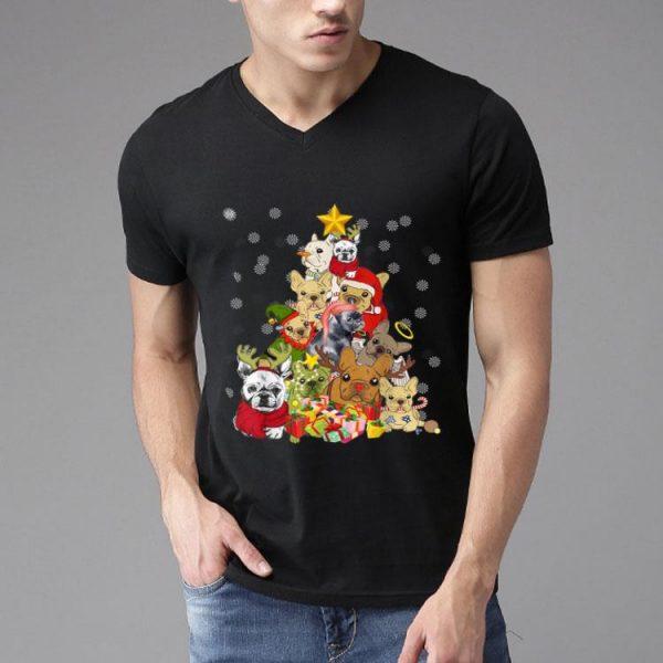 Frenchie Christmas Dog And Christmas Lovers shirt