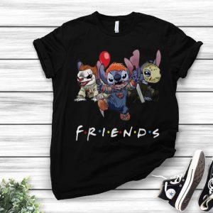 Friends Stitch Pennywise Chucky Jason Voorhees Halloween shirt