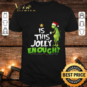 Grinch is this jolly enough Christmas light shirt
