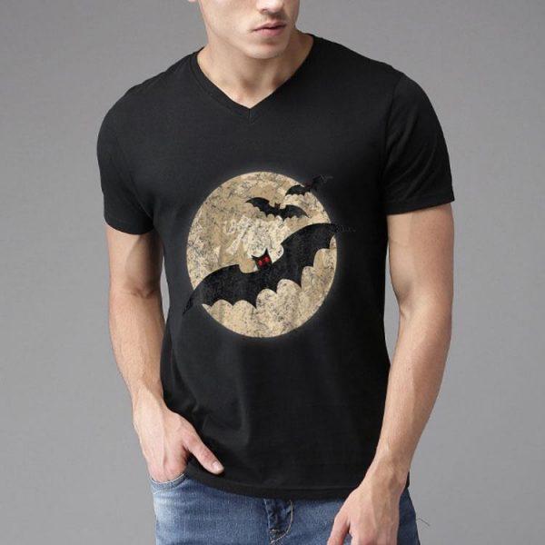 Halloween Bat Moon Costume Halloween shirt